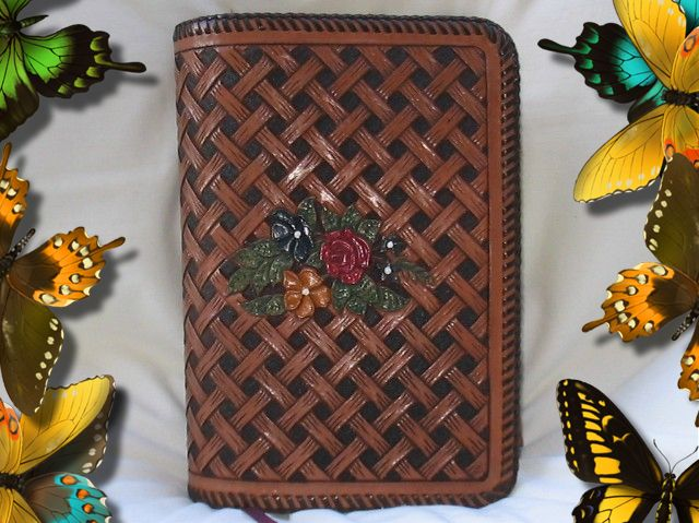Leather study bible covers